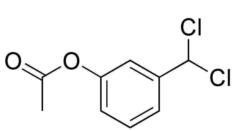 Acetic acid 3-dichloromethyl-phenyl ester